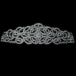 tiara triana, plata & swarovski